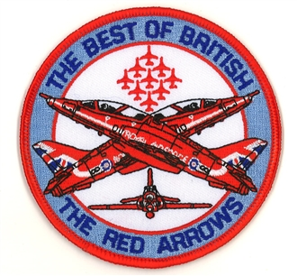 RED ARROWS - BEST OF BRITISH BADGE