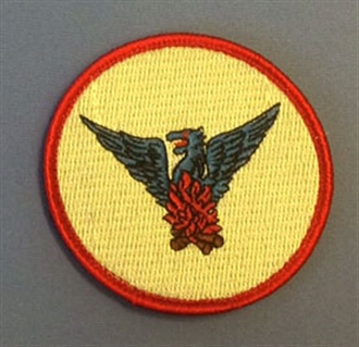 57 SQN SOLO BADGE WITH VELCRO