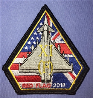 11 SQN RED FLAG 2108 BADGE