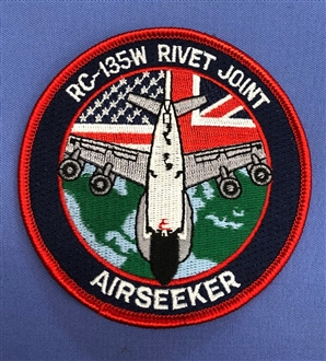 AIRSEEKER EMBROIDERED BADGE
