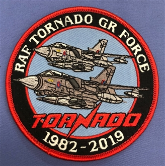 TORNADO GR FORCE 1982-2019 ROUND BADGE