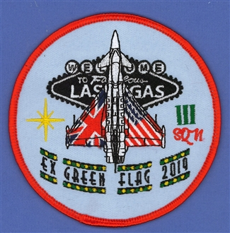 3 SQN GREEN FLAG BADGE