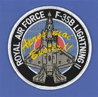 F35 - APRES MOI BUSTER EMB BADGE