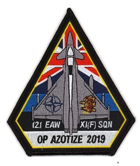 11 SQN OP AZOTIZE 2019 BADGE