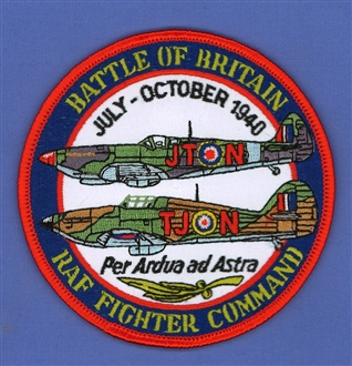 BATTLE OF BRITAIN FIGHTER COMMAND BADGE