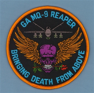 REAPER - DEATH FROM ABOVE BADGE