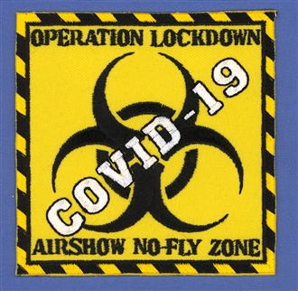 COVID-19 - AIRSHOW NO-FLY ZONE BADGE