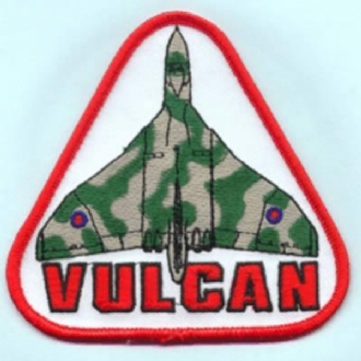 VULCAN TRIANGLE WHITE/RED