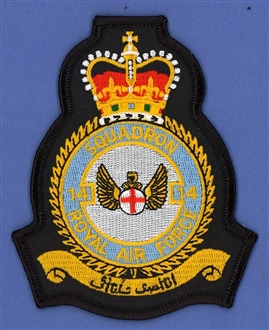 14 SQN CREST BADGE