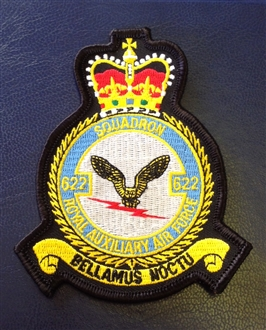 622 SQN RAUXAF CREST BADGE