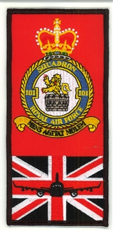 101 SQN FACS CREST BADGE