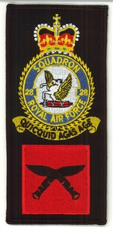 28 SQN FACS CREST BADGE