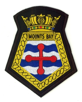 RFA MOUNTS BAY CREST BADGE