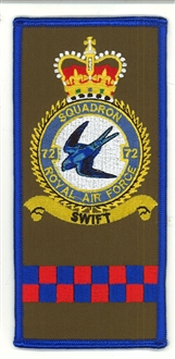 72 SQN FACS CREST BADGES
