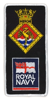 HMS HERON/ROYAL NAVY FACS BADGE