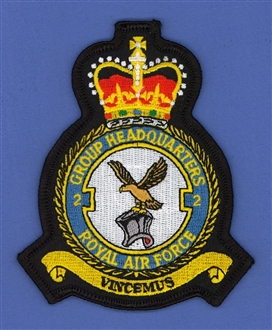 2 GROUP HQ CREST BADGE