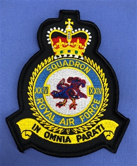 24 SQN CREST BADGE