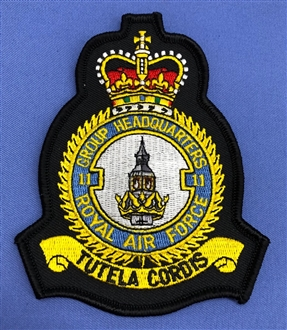 11 GROUP HQ CREST BADGE
