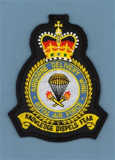 AIRBORNE DELIVERY WING CREST BADGE