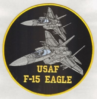 F-15 EAGLE XL BADGE