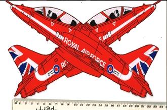 RED ARROWS XOVER XL BADGE