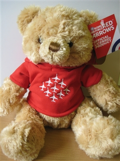 RED ARROWS FURRY TEDDY BEAR