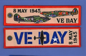 VE DAY 75TH ANNIVERSARY KEYRING