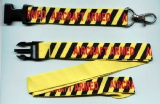 AIRCRAFT ARMED LANYARD