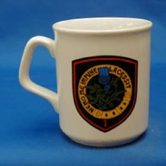 1 FIGHTER BOMBER SQN (BELGIUM AF) WHITE COFFEE MUG
