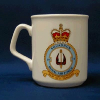 10 SQN CREST WHITE COFFEE MUG