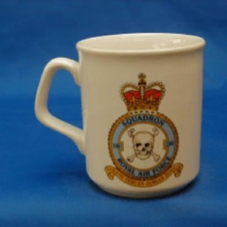 100 SQN CREST WHITE COFFEE MUG