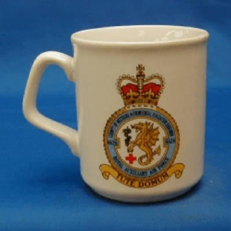 4626 RAFVR CREST WHITE COFFEE MUG