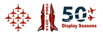 THE RED ARROWS 50 SEASON/DIAMOND 9 MUG