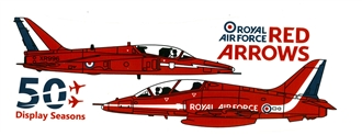 THE RED ARROWS 50 DISPLAY SEASONS MUG