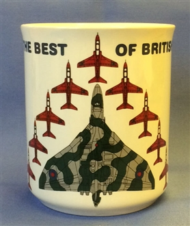 VULCAN & REDS BEST OF BRITISH MUG
