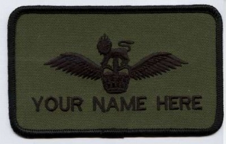 ARMY AIR CORPS / AAC PILOT I LINE NAME BADGE
