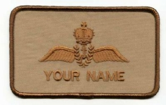 RN PILOT - DESERTNAME BADGE