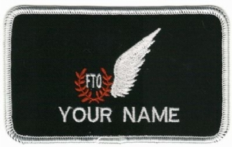 FTO NAME BADGE NAME BADGE