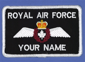 CANADIAN PILOT NAME BADGE