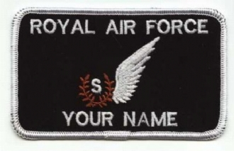 RAF SIGNALLER NAME BADGE