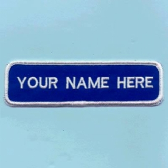 NAME STRIP NAME BADGE