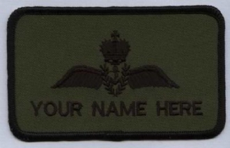 RN PILOT NAME BADGE