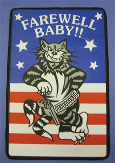 TOMCAT FAREWELL BABY XL BACK PATCH