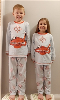 RED ARROWS KIDS PJ'S