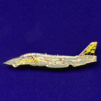 F-14 (SIDE VIEW) PIN BADGE