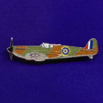 SPITFIRE (SIDE VIEW) PIN BADGE