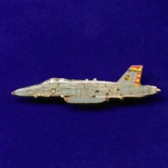 F-18 HORNET (SIDE VIEW) PIN BADGE