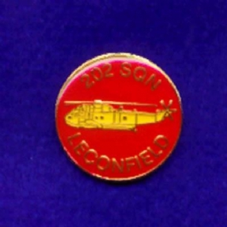 202 SQN RAF LECONFIELD PIN BADGE