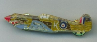 WARHAWK PIN BADGE