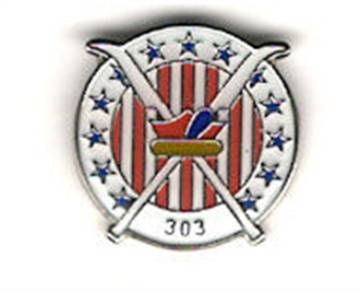 303 SQN POLISH AIR FORCE PIN BADGE